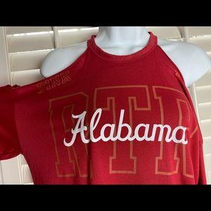 university of Alabama cold shoulder long sleeve